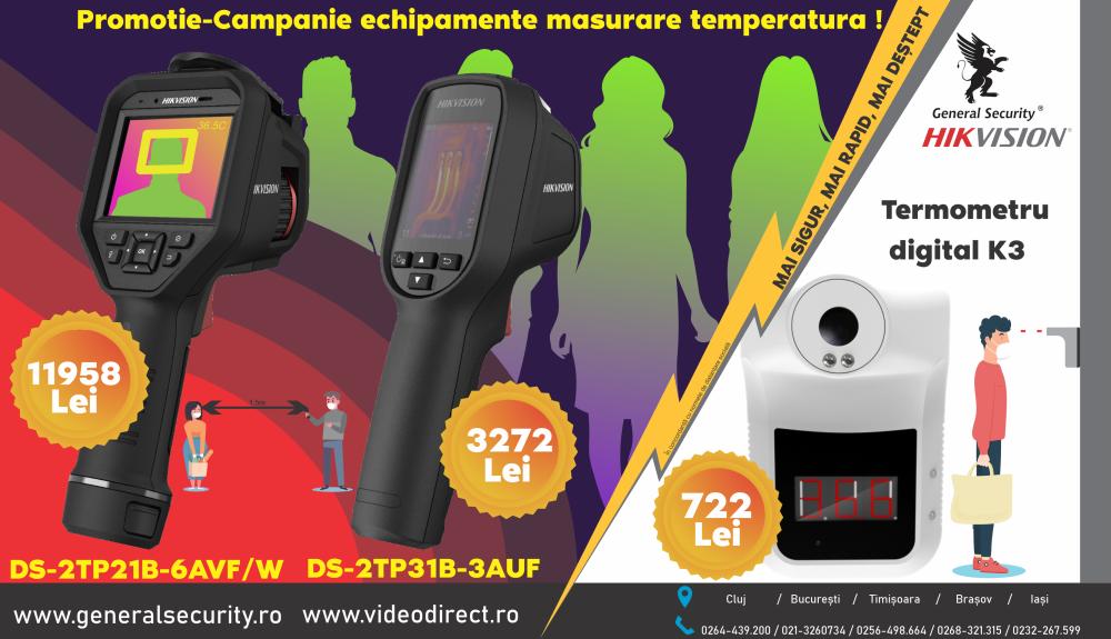 Preturi promotionale la echipamentele de masurare a temperaturii